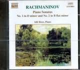 CD image RACHMANINOV / PIANO SONATAS NOS.1 AND 2 / BIRET