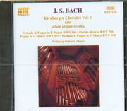 CD image BACH J S / KIRNBERGER CHORALES V I AND OTHER ORGAN WORKS WOLFGANG RUBSAM ORGAN