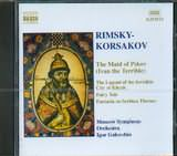 CD image RIMSKY KORSAKOV / THE MAID OF PSKOV / IVAN THE TERRIBLE / GOLOVCHIN