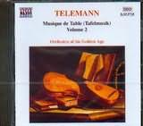 CD image TELEMANN / MUSIQUE DE TABLE VOL.2 / ORCHESTRA OF THE GOLDEN AGE