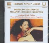 RODRIGO - DOMENICONI - MOMPOU - BARRIOS - BROUWEL / <br>GUITAR RECITAL BY GONI