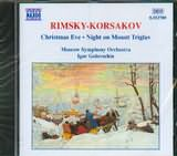 CD image RIMSKY KORSAKOV / CHRISTMAS EVE - NIGHT ON MOUNT TRIGLAV / GOLOVSCHIN