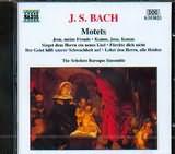 CD image BACH J.S. / MOTETS / THE SCHOLARS BAROQUE ENSEMBLE