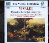 CD image VIVALDI / COMPLETE RECORDER CONCERTOS / ESTERHAZY SINFONIA