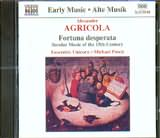 CD image AGRICOLA / FORTUNA DESPERATA SECULAR MUSIC OF THE 15TH CENTURY / POSCH