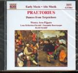 CD image PRAETORIUS / DANCES FROM TERPSICHORE - WESTRA AROS PIJPARE