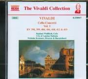 CD image VIVALDI / CELLO CONCERTI VOL.1 - RV 398 - 399 - 404 - 406 - 410 - 412 - 419