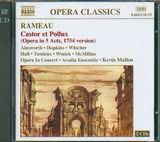 CD image RAMEAU / CASTOR ET POLLUX - OPERA IN 5 ACTS / AINSWORTH - HOPKINS - WHICHER (2CD)