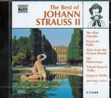 CD image THE BEST OF JOHANN STRAUSS II / VARIOUS
