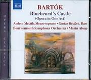 CD image BARTOK / BLUEBEARD S CASTLE - OPERA IN ONE ACT - MARIN ALSOP