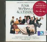 CD image for FOUR WEDDINGS AND A FUNERAL - SONGS FROM AND INSPIRED BY HE FILM - (OST)