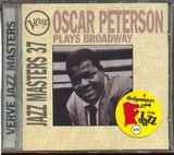 CD image OSCAR PETERSON / PLAYS THE BROADWAY