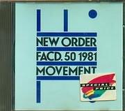 CD image NEW ORDER / FACD.50 1981 / MOVEMENT