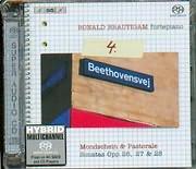 SACD image BEETHOVEN / COMPLETE WORKS FOR SOLO PIANO / SONATAS 12 - 13 - 14 - 15 [R. BRATIGAM FORTE PIANO] (SACD)