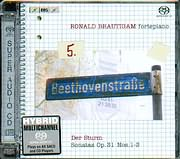 SACD image BEETHOVEN / COMPLETE WORKS FOR SOLO PIANO VOL.5 / SONATAS OP.31 NO.1 - 2 - 3 / BRAUTIGAM (SACD)