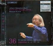 SACD image BACH J S / CANTATAS 6 - 42 - 103 - 108 / BACH COLLEGIUM JAPAN - MASAAKI SUZUKI (SACD)