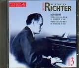 CD image SCHUBERT / RICHTER PIAN SON 16