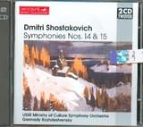 CD image SHOSTAKOVICH / SYMPHONIES NOS.14 AND 15