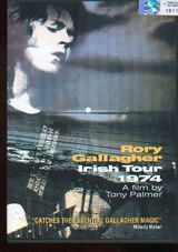 DVD image RORY GALLAGHER IRISH TOYR 1947 A FILM BY TONY PALMER - (DVD)