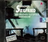 CD image WAGNER / SIEGFRIED - HIGHLIGHTS