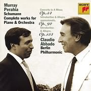 CD image SCHUMANN / PIANO AND ORCHESTRAL WORKS - PERAHIA (CLAUDIO ABBADO)