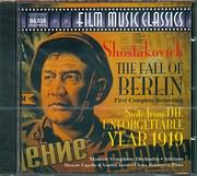 CD image SHOSTAKOVICH / THE FALL OF BERLIN - SUITE FROM THE UNFORGETTABLE YEAR 1919 - MASCOW SYMPHONY ORCH - (OST)