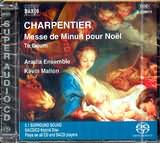 SACD image CHARPENTIER / MESSE DE MINUIT POUR NOEL - TE DEUM / ARADIA ENSEMBLE - KEVIN MALLON (SUPER AUDIO CD)