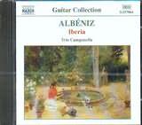 CD image ALBENIZ / SUITE IBERIA (FOR THREE GUITARS) / TRIO CAMPANELLA