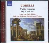 CORELLI / <br>VIOLIN SONATAS OP.5 NOS 1 - 6 / <br>LUCY VAN DAEL - BOB VAN ASPEREN