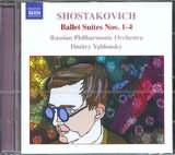 CD image SHOSTAKOVICH / BALLET SUITES NOS.1 - 4 / RPO DMITRY YABLONSKY
