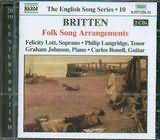 CD image BRITTEN / FOLK SONG ARRANGEMENTS / LOTT - LANGRIDE - JOHNSON - BONELL (2CD)