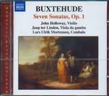 CD image BUXTEHUDE / SEVEN SONATAS OP.1 / HOLLOWAY - LINDEN - MORTENSEN