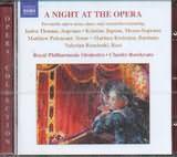 CD image A NIGHT AT THE OPERA / VERDI MOZART GOUNOD PUCCINI HANDEL BIZET BELLINI STRAUSS
