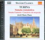 CD image TURINA / SONATA ROMANTICA - SONATA FANTASIA - CONCIERTO SIN ORQUESTA [JORDI MASO PIANO]