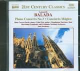 CD image BALADA LEONARDO / PIANO CONCERTO NO.3 / SEREBRIER