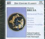 CD image BRUSA / ORCHESTRAL WORKS / MASTRANGELO