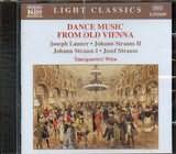 CD image DANCE MUSIC FROM VIENNA / LANNER - JOHANN - JOSEF STRAUSS / TANZQUARTETT WIEN