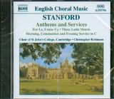 CD image STANFORD / ANTHEMS AND SERVICES / ROBINSON
