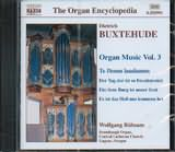 CD image BUXTEHUDE / ORGAN MUSIC VOL.3 / RUBSAM