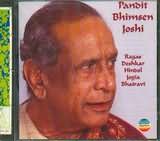 CD image PANDIT BHIMSEN JOSHI / RAGAS DESHKAR HINDOL LOGIA BHAIRAVI