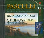 CD image PASCULLI ANTONIO / CHARACTER PIECES AND FANTASIAS / KWAK - CHOU - EISERT