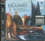 SACD image BRAHMS / PIANO CONCERTO N 1 D MINOR OP 15 - SACD