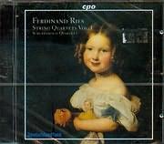 CD image RIES FERDINAND / STRING QUARTETS V 1 - SCUPPANZIGH QUARTETT