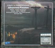 SACD image J.S BACH / JOHANNES PASSION BWV 245 VERSION BY ROBERT SCHUMANN / MAX (2 SACD)