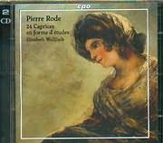 CD image RODE PIERRE / 24 CAPRICES EN FORME D ETUDES - ELIZABETH WALLFISCH - (2CD)
