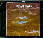 CD image HAYDN MICHAEL / SYMPHONIES 14 - 17 - 19 - 24 - 29 - 33 - 40 - 41 / DEUTSCHE KAMMERAKADEMIE NEUSS - BEERMANN (2CD)