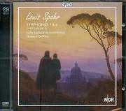 SACD image SPOHR LOUIS / SYMPHONIES 1 AND 6 - OVERTURE OP 12 - NDR RADIOPHILHARMONIE - HOWARD GRIFFITHS (SACD)