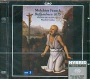MELCHIOR FRANCK / BUSSPSALMEN 1615 - WESER - RENAISSANCE - MANFRED COWDES - SACD