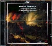CD image DIETERICH BUXTEHUDE / DAS JUNGSTE GERICH (SELECTION) / CORDES