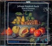 CD image JOHANN FRIEDRICH FASCH / TRIOS AND SONATAS / EPOCA BAROCCA